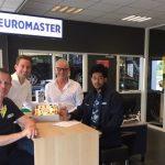 Biniam grijpt kans bij Euromaster aan
